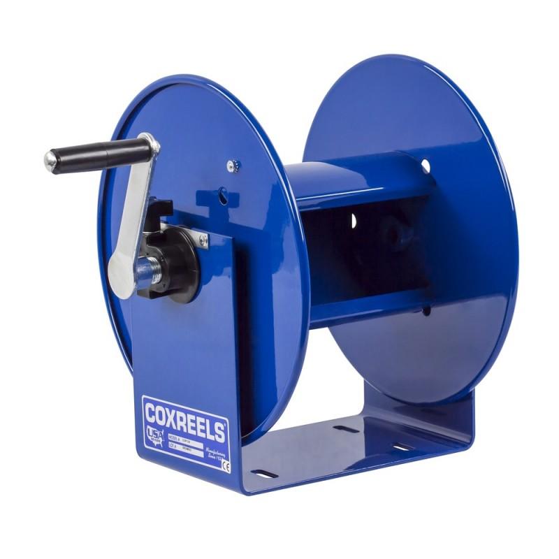 CoxReel 112P-3-8 Compact Hand Crank Breathing Air Hose Reel 3/8inx100ft no hose (1)