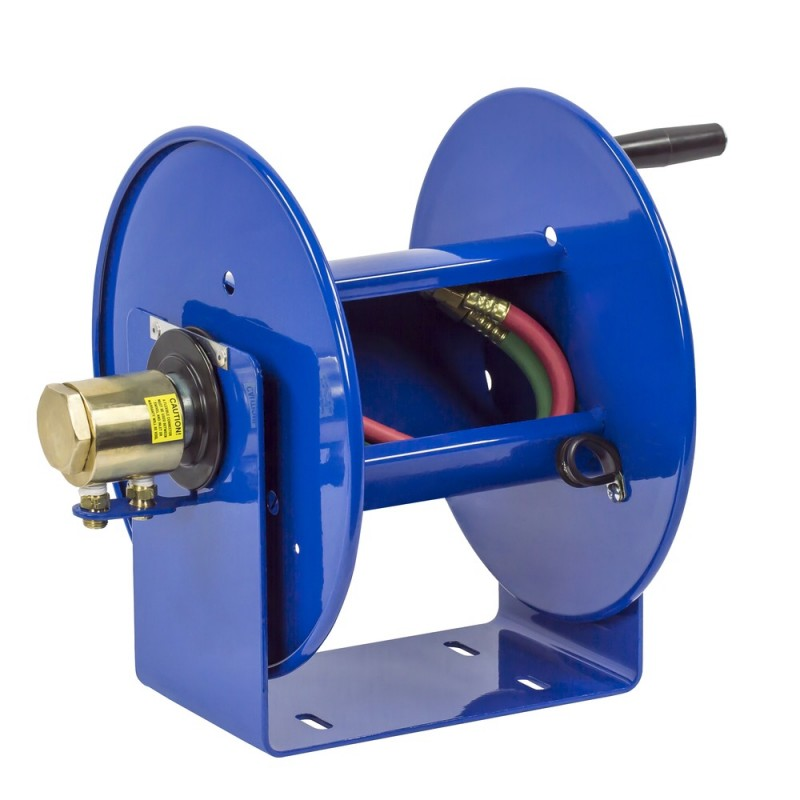 Coxreels 112WL-1-50 Welding Hand Crank Hose Reel 1/4inx50ft oxy-acet. no hose (1)