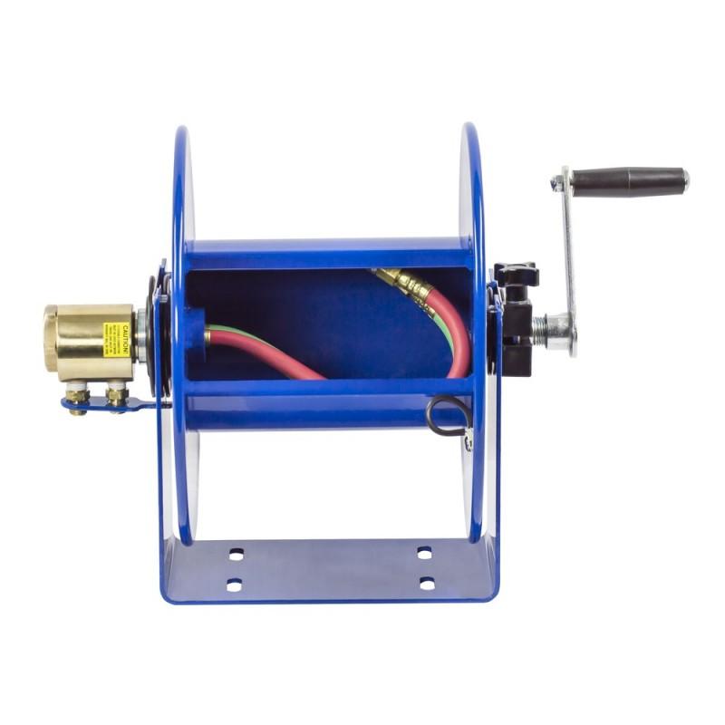 Coxreels 112WL-1-50 Welding Hand Crank Hose Reel 1/4inx50ft oxy-acet. no hose (2)
