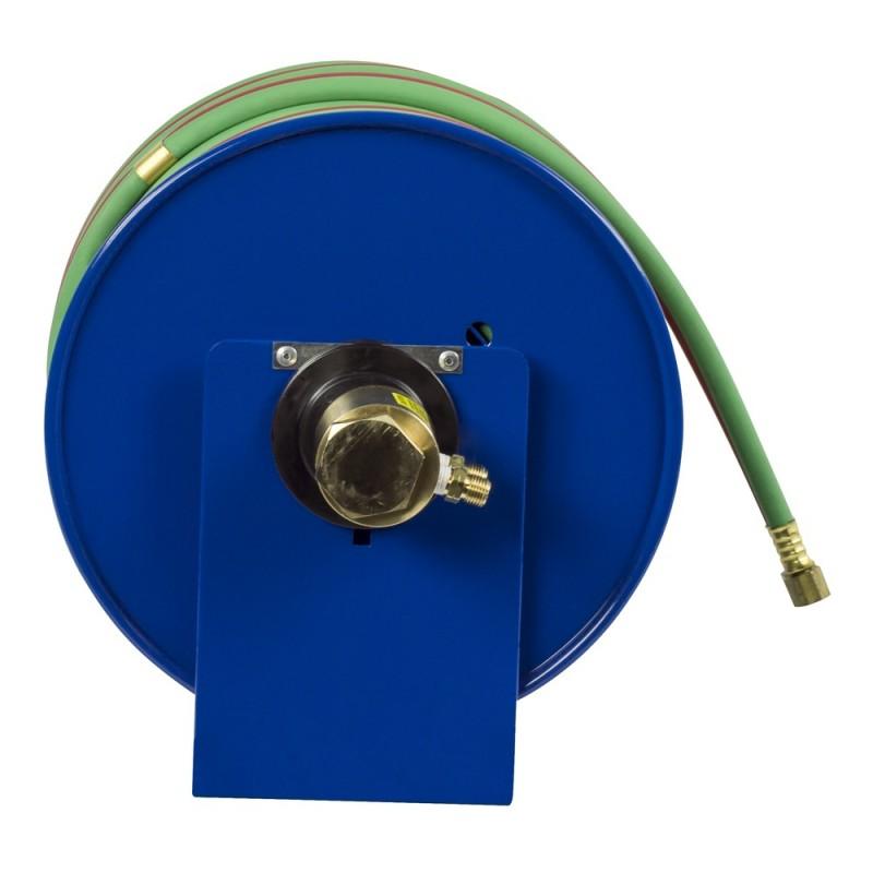 Coxreels 112W-1-100 Welding Hand Crank Hose Reel 1/4inx100ft oxy-acet. 200PSI (3)