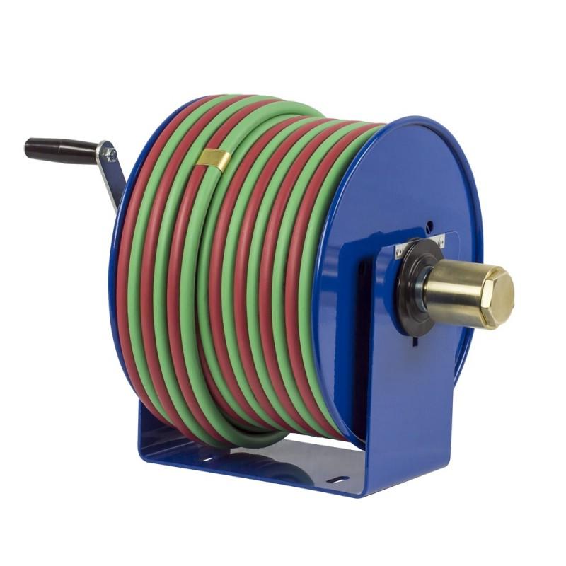 Coxreels 112WT-1-100 Welding Hand Crank Hose Reel 1/4inx100ft T-Grade  200PSI (4)