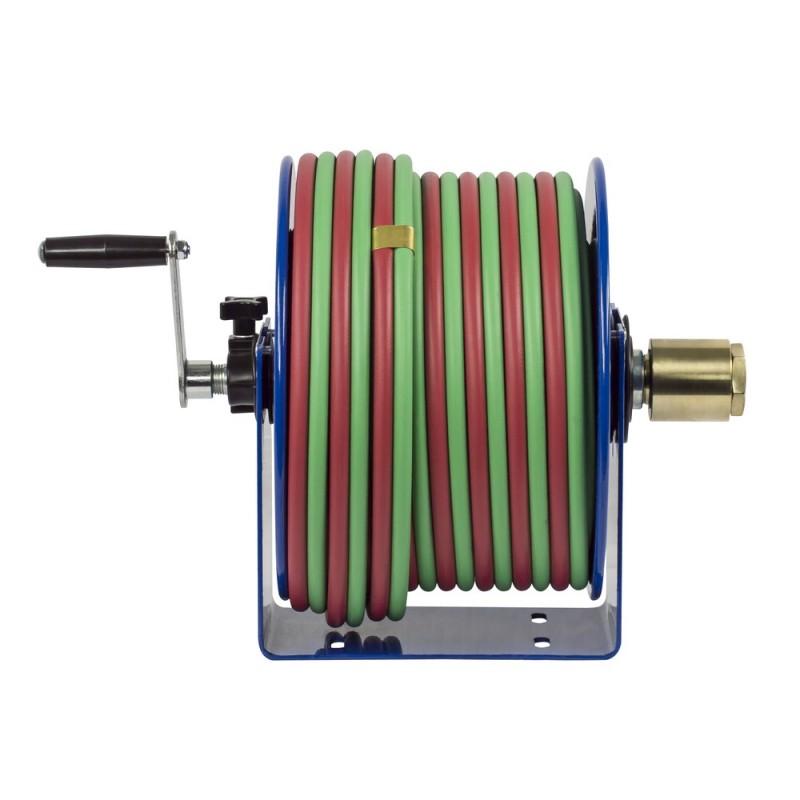 Coxreels 112W-1-100 Welding Hand Crank Hose Reel 1/4inx100ft oxy-acet. 200PSI (6)