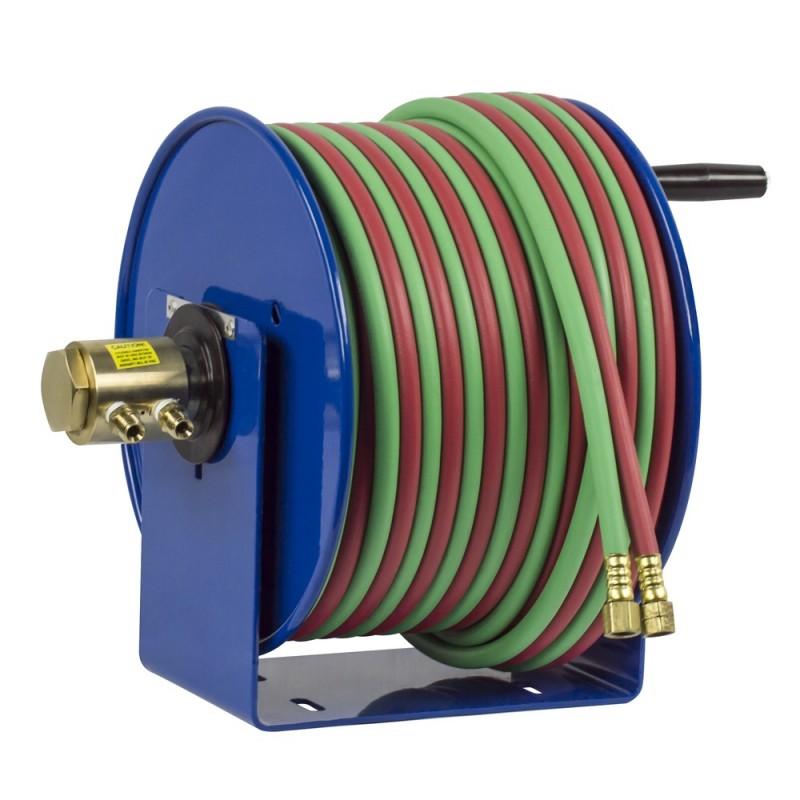 Coxreels 112WT-1-100 Welding Hand Crank Hose Reel 1/4inx100ft T-Grade  200PSI (9)