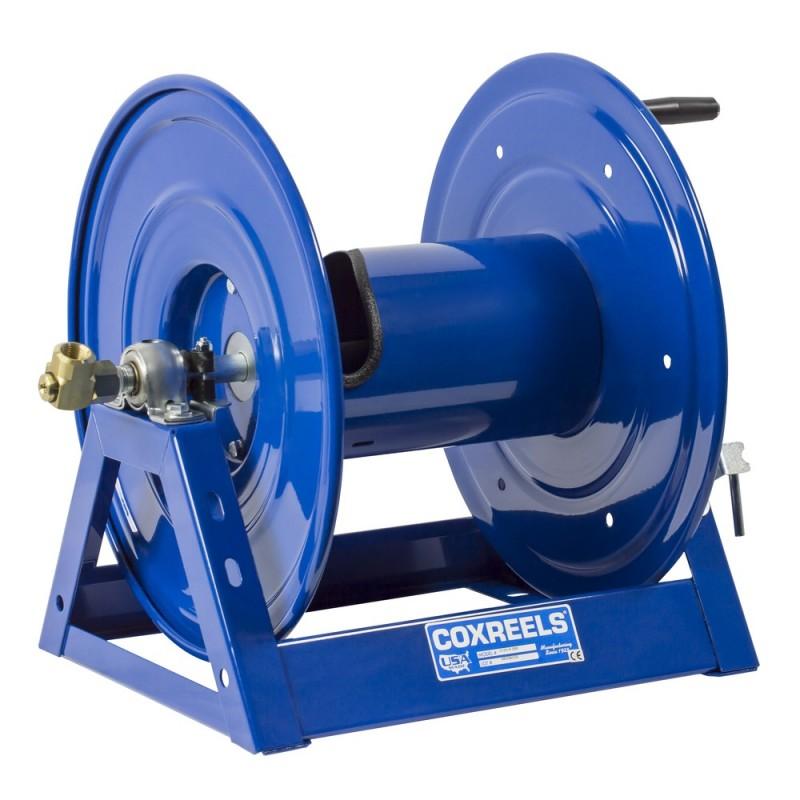 Coxreels 1125-4-325-C Bevel Geared Crank Hose Reel 1/2inx325ft 3000PSI no hose (1)