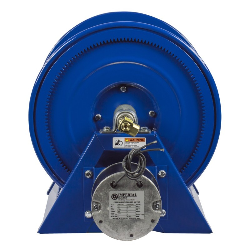 Coxreels 1125-4-100-EA 115V 1/2HP Motorized Hose Reel 1/2inx100ft no hose (3)