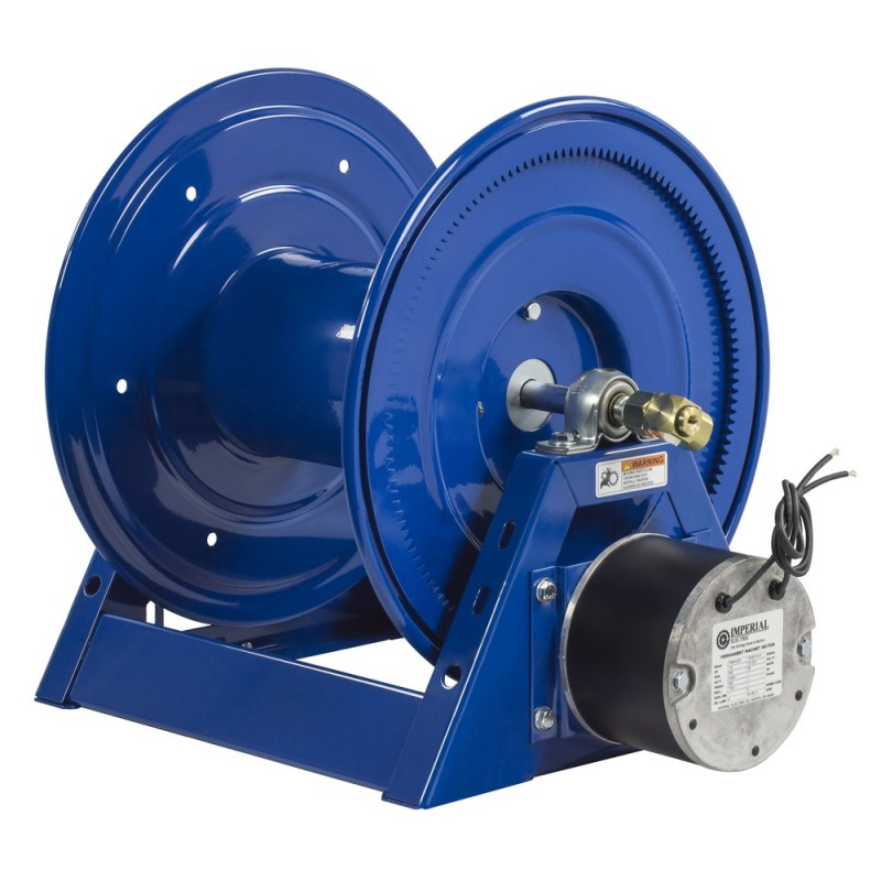 Coxreels 1125-4-100-EA 115V 1/2HP Motorized Hose Reel 1/2inx100ft no hose (4)