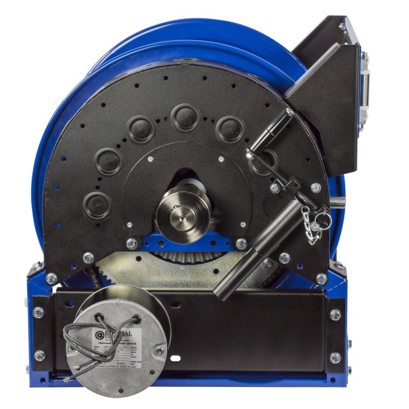 Coxreels 1680-1520-A Air Motorized Hybrid Frame Hose Reel 1-1/2inx50ft no hose (2)