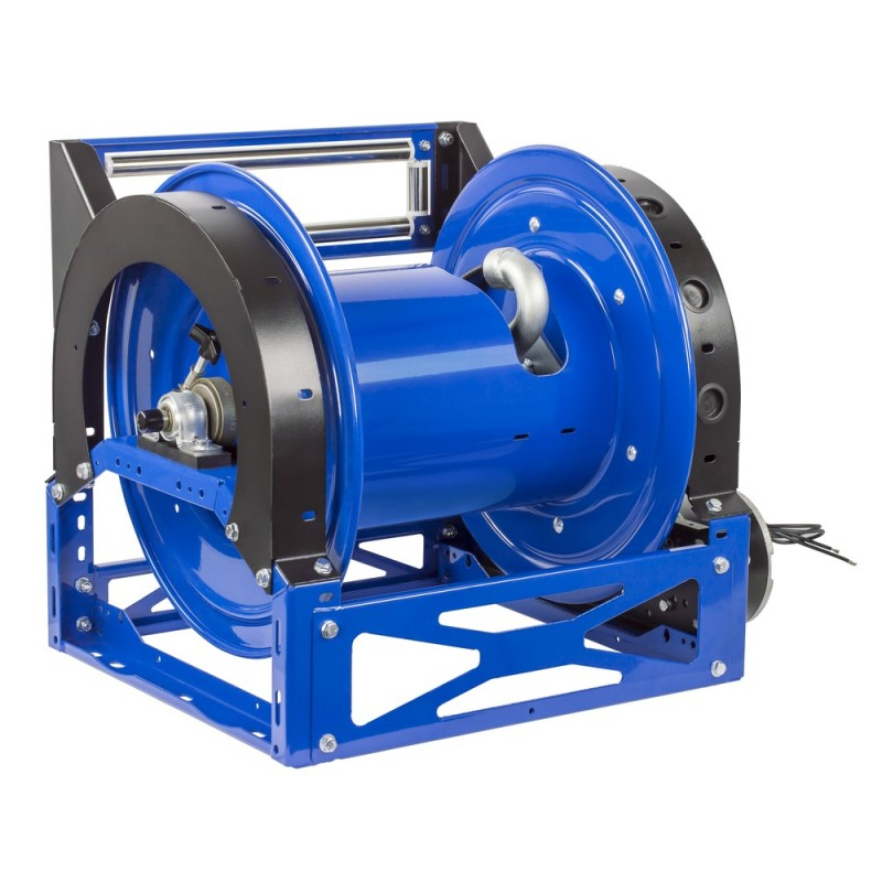 Coxreels 1680-1328-E 12V DC Motorized Hybrid Frame Hose Reel 1-1/2inx100ft (7)