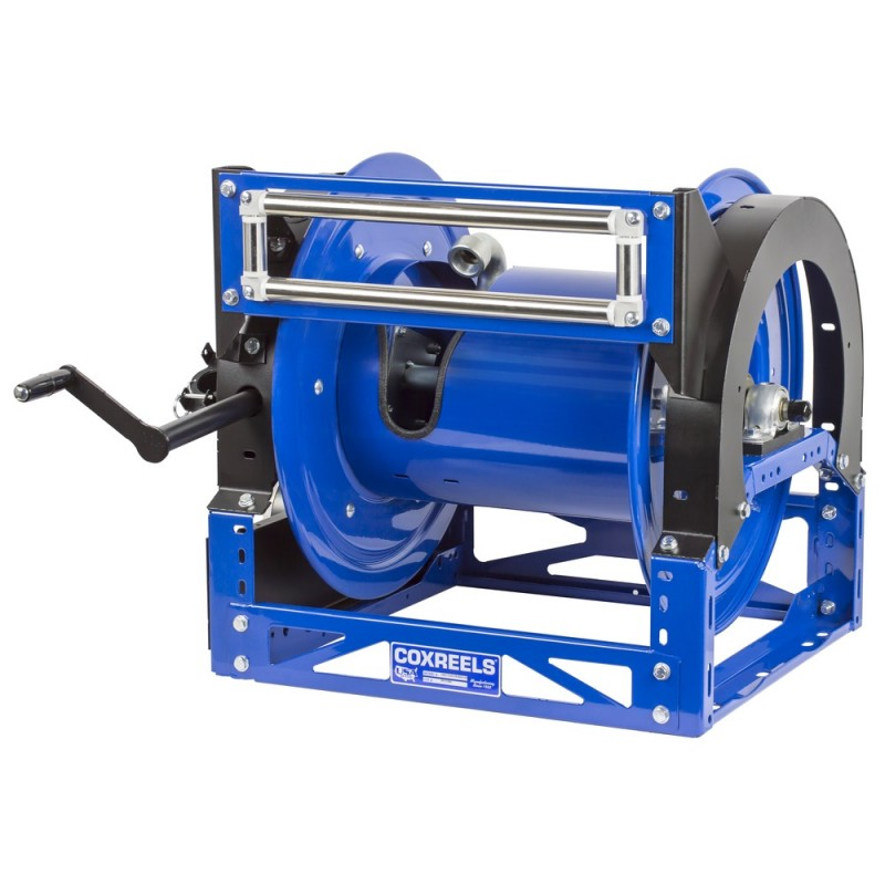 Coxreels 1680-1328-E 12V DC Motorized Hybrid Frame Hose Reel 1-1/2inx100ft (8)