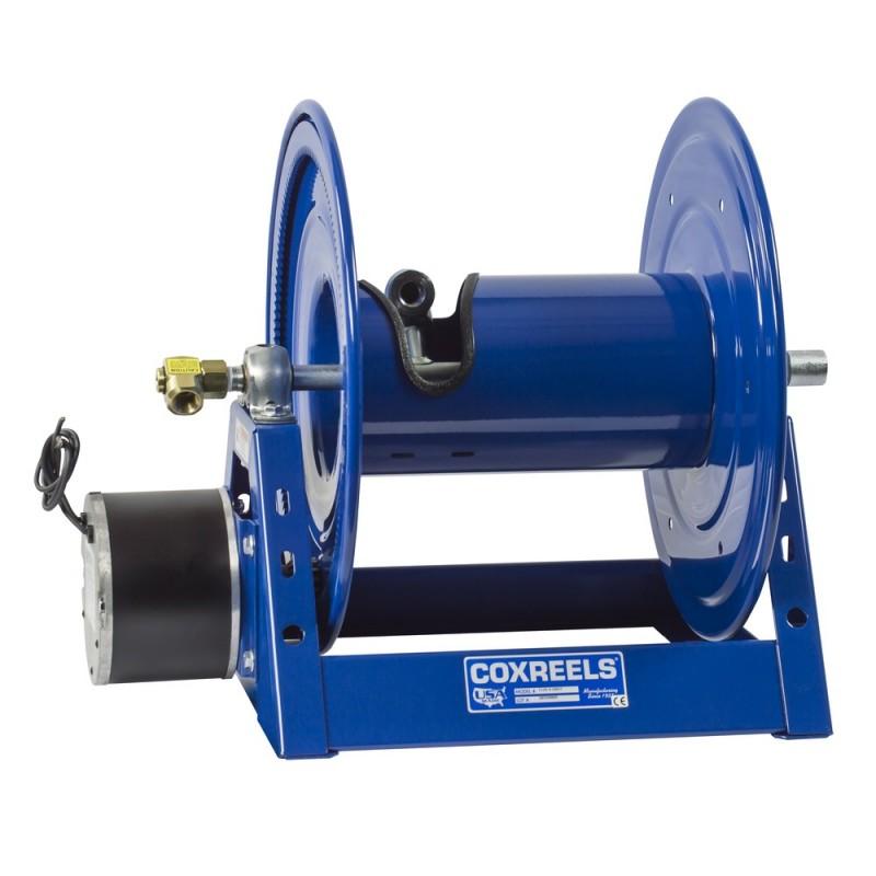 Coxreels 1125-4-500-EB 24V DC 1/2HP Motorized Hose Reel 1/2inx500ft no hose