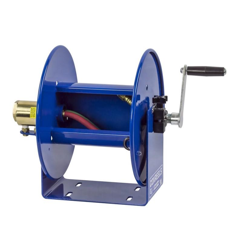 Coxreels 112WL-1-50 Welding Hand Crank Hose Reel 1/4inx50ft oxy-acet. no hose