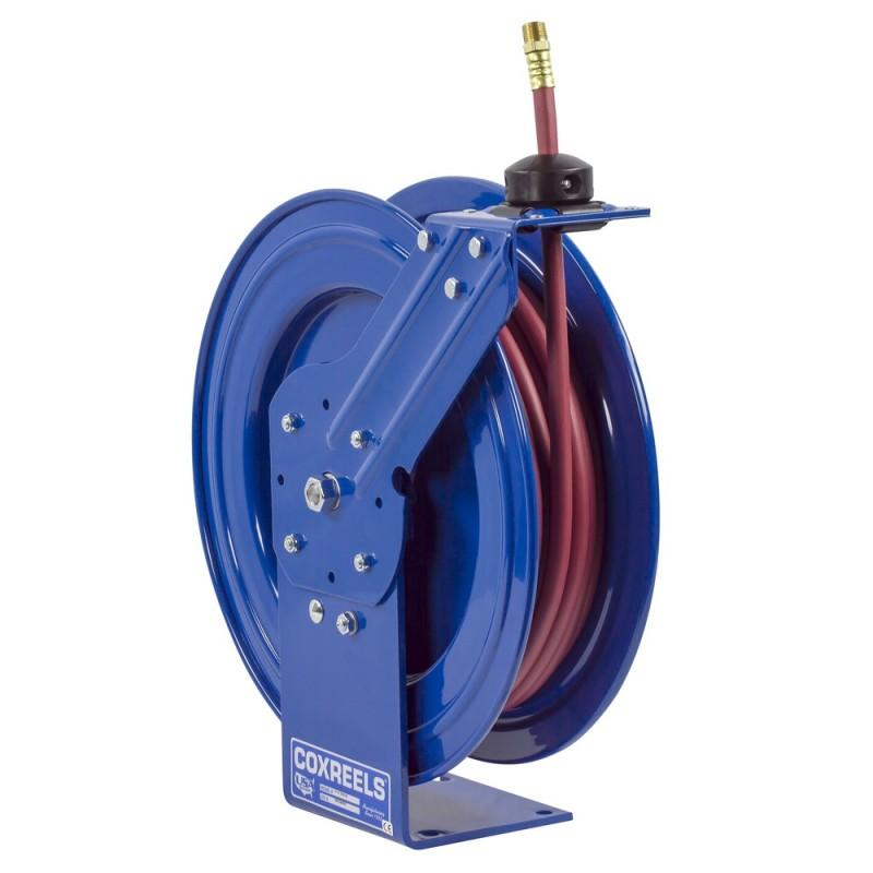 Coxreels P-LP-325-AL Spring Driven Aluminum Hose Reel 3/8inx25ft 300PSI