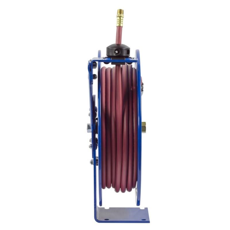 Coxreels P-LP-325-AL Spring Driven Aluminum Hose Reel 3/8inx25ft 300PSI (1)