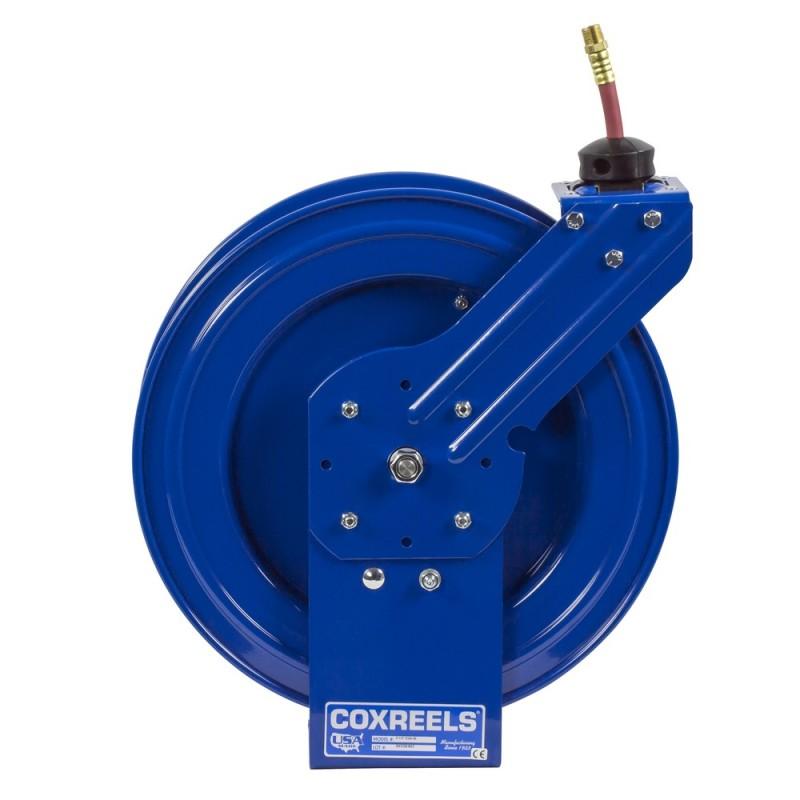 Coxreels P-LP-325-AL Spring Driven Aluminum Hose Reel 3/8inx25ft 300PSI (2)