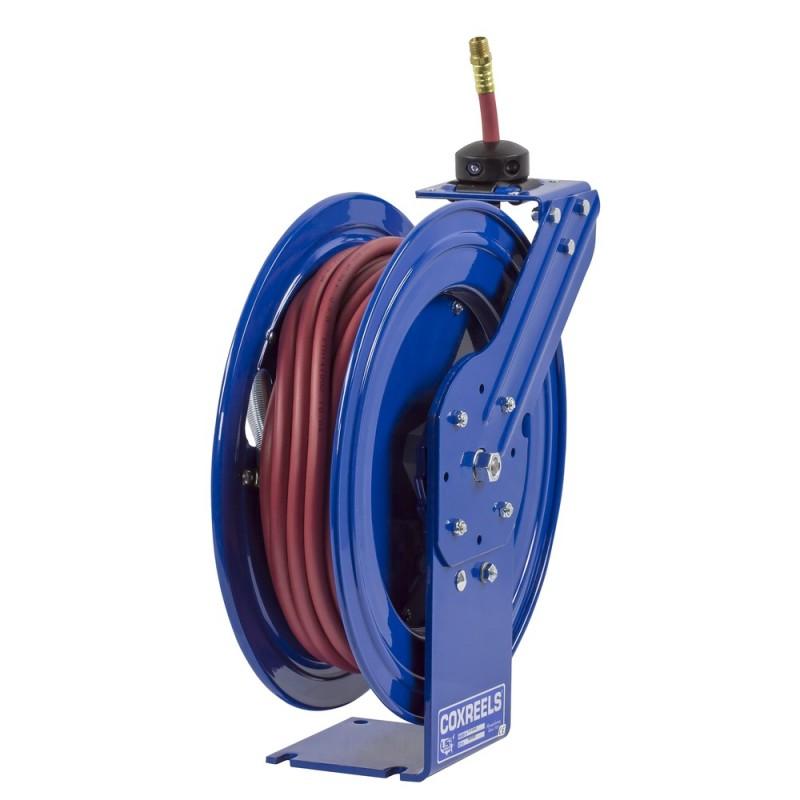 Coxreels P-LP-325-AL Spring Driven Aluminum Hose Reel 3/8inx25ft 300PSI (3)