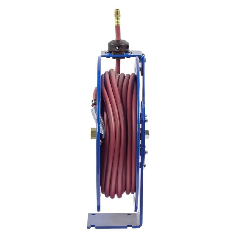 Coxreels P-LP-325-AL Spring Driven Aluminum Hose Reel 3/8inx25ft 300PSI (5)