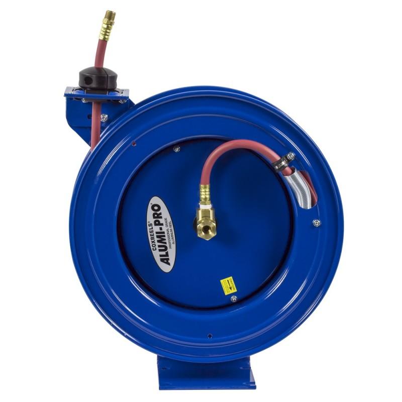 Coxreels P-LP-325-AL Spring Driven Aluminum Hose Reel 3/8inx25ft 300PSI (6)