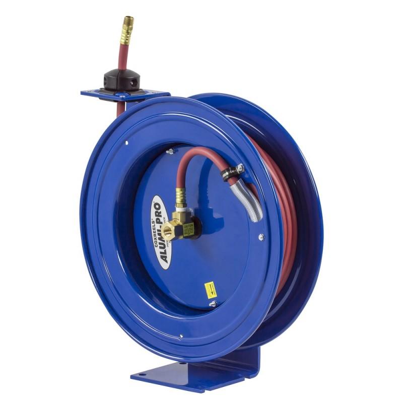 Coxreels P-LP-325-AL Spring Driven Aluminum Hose Reel 3/8inx25ft 300PSI (7)