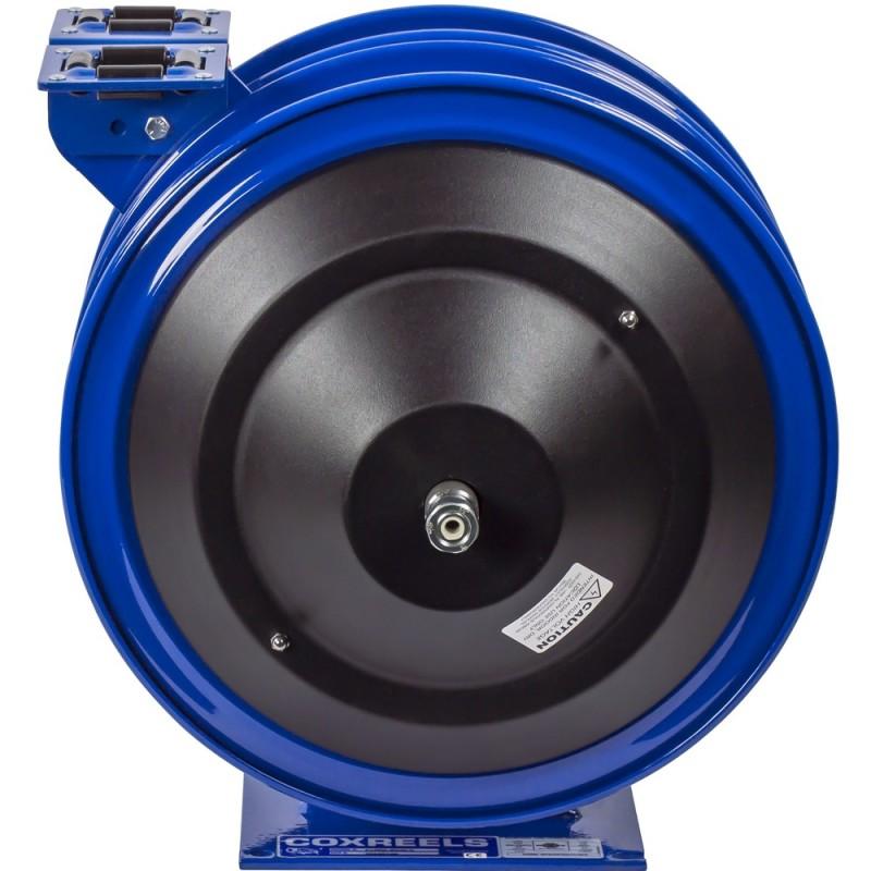 Coxreels C-L350L-5016L-X Dual Purpose Spring Rewind Reels 3/8inx50ft 300PSI; Less cord & accessory 50ft cord capacity 16 AWG (6)