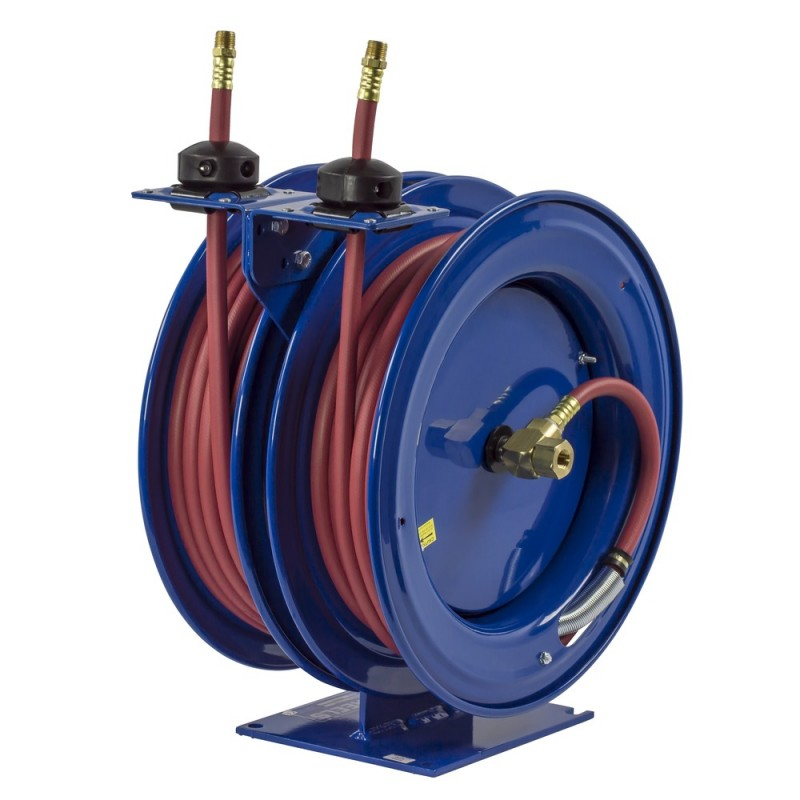 Coxreels C-HP-135-135 Dual Purpose Spring Driven Hose Reel 1/4inx35ft 5000PSI (4)