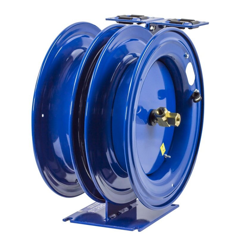 Coxreels C-HPL-125-125 Dual Purpose Spring Driven Hose Reel 1/4inx25ft 5000PSI (3)