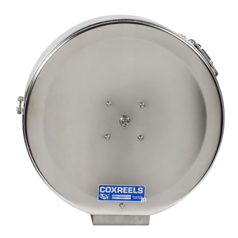 Coxreels ENL-N-425-SS Stainless Steel Spring Driven Enclosed Hose Reel 1/2inx25ft (2)