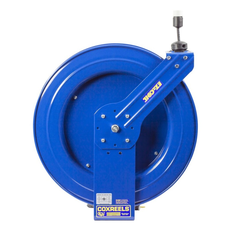 Coxreels EZ-PC24-0012-A Safety System Spring Driven Cord Reel 100ft Single Rec (2)