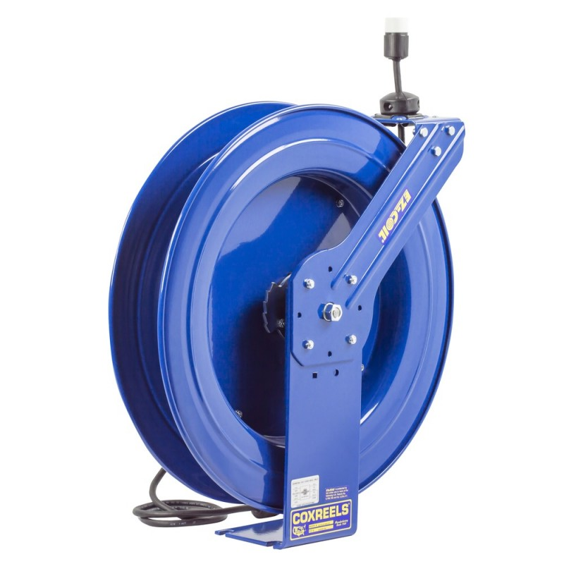 Coxreels EZ-PC24-0012-A Safety System Spring Driven Cord Reel 100ft Single Rec (3)