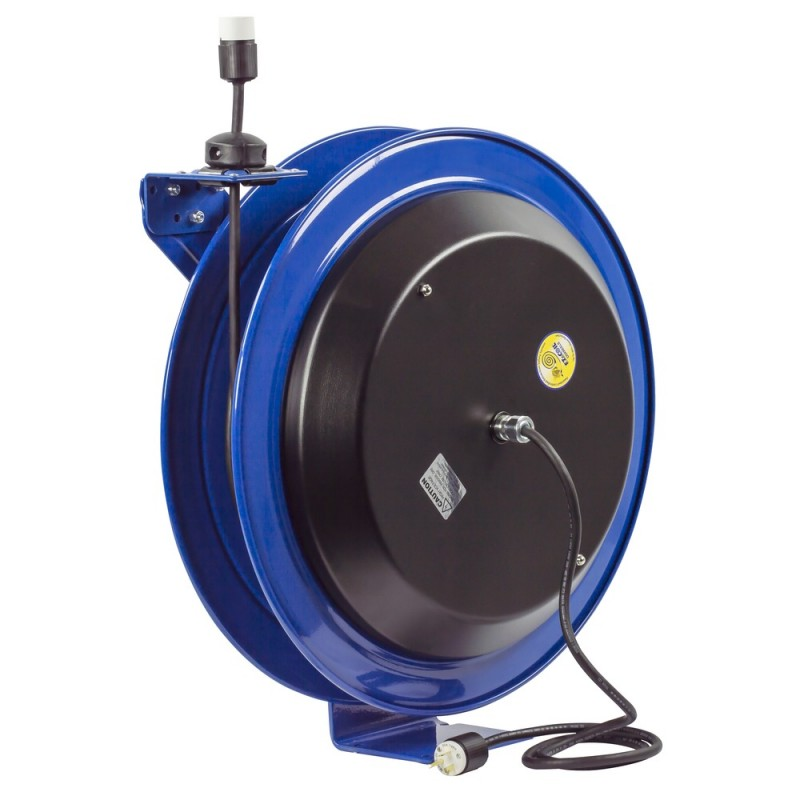 Coxreels EZ-PC24-0012-A Safety System Spring Driven Cord Reel 100ft Single Rec (4)