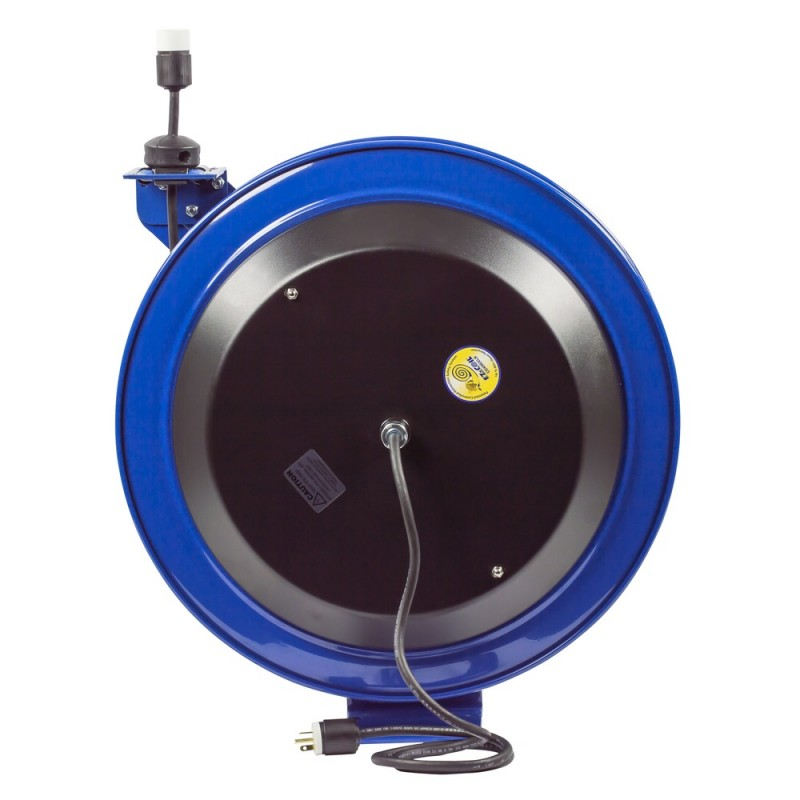 Coxreels EZ-PC24-0012-A Safety System Spring Driven Cord Reel 100ft Single Rec (6)