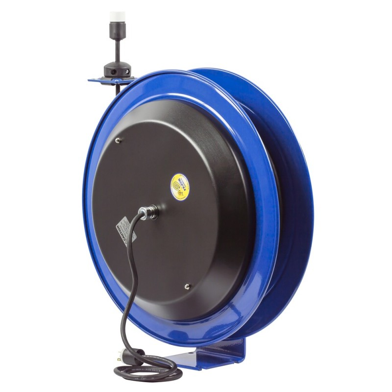 Coxreels EZ-PC24-0012-A Safety System Spring Driven Cord Reel 100ft Single Rec (7)