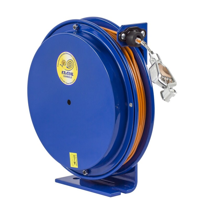Coxreels EZ-SD-35-1 Safety System Spring Driven Static Discharge Cord Reel 35ft (1)