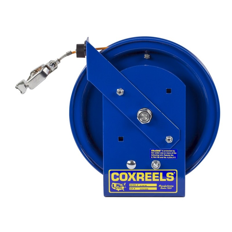 Coxreels EZ-SD-35-1 Safety System Spring Driven Static Discharge Cord Reel 35ft (6)