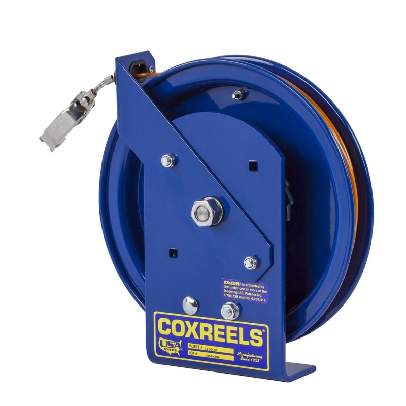 Coxreels EZ-SD-35-1 Safety System Spring Driven Static Discharge Cord Reel 35ft (7)