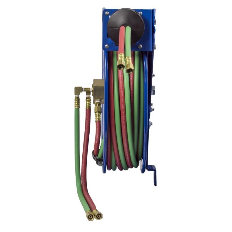 Coxreels EZ-SG19W-175 Safety System Side Mount Welding Hose Reel 1/4in oxy-acet (2)