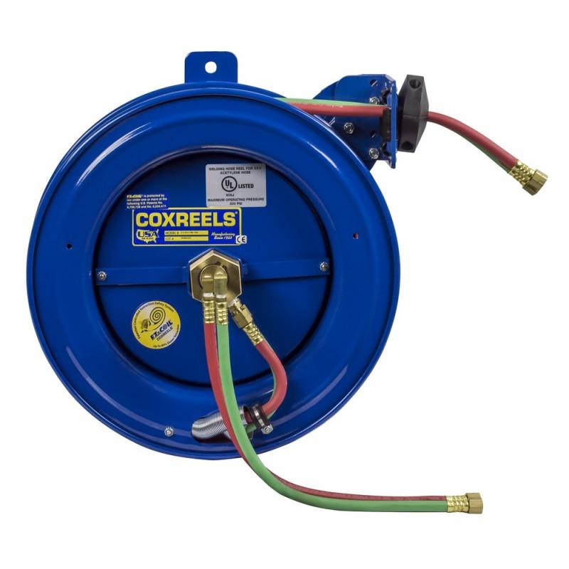Coxreels EZ-SG19W-175 Safety System Side Mount Welding Hose Reel 1/4in oxy-acet (3)
