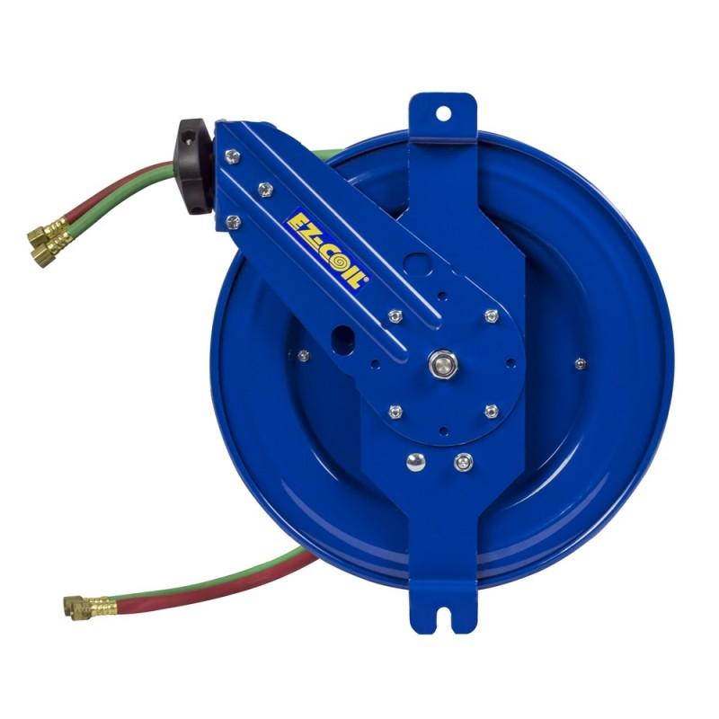 Coxreels EZ-SG19W-175 Safety System Side Mount Welding Hose Reel 1/4in oxy-acet (6)
