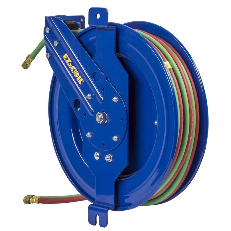 Coxreels EZ-SG19W-175 Safety System Side Mount Welding Hose Reel 1/4in oxy-acet (7)