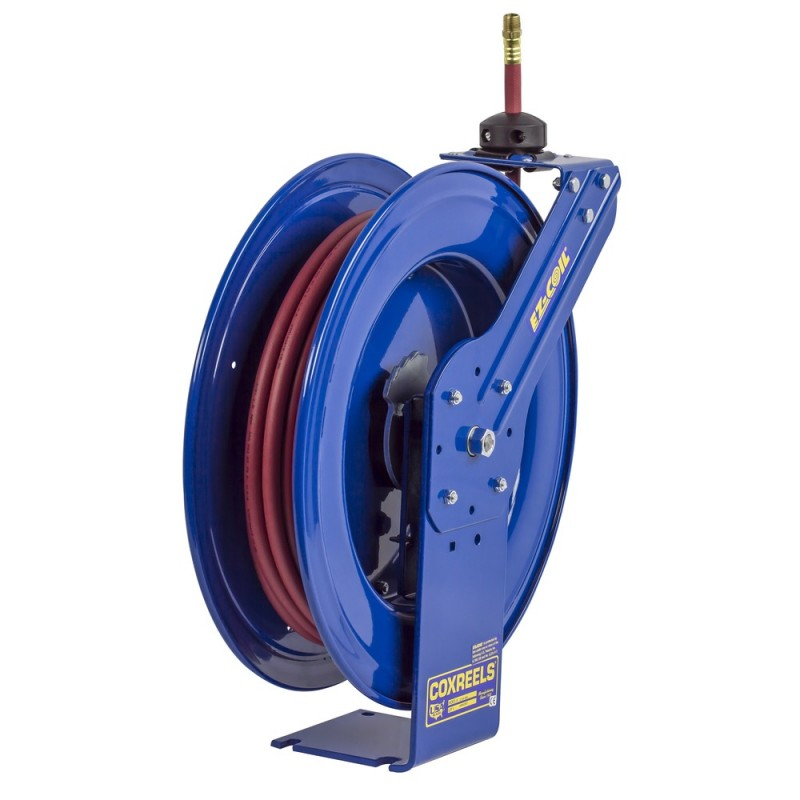 Coxreels EZ-HP-350 Safety System Heavy Duty Spring Driven Hose Reel 3/8inx50ft (3)