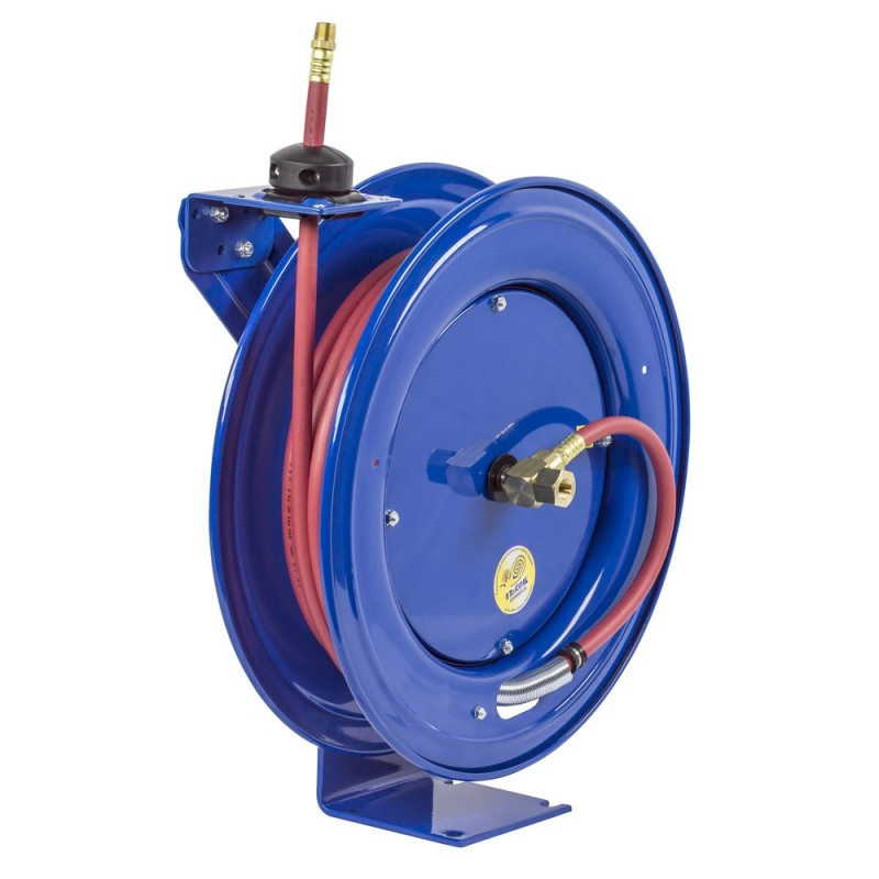 Coxreels EZ-HP-350 Safety System Heavy Duty Spring Driven Hose Reel 3/8inx50ft (4)