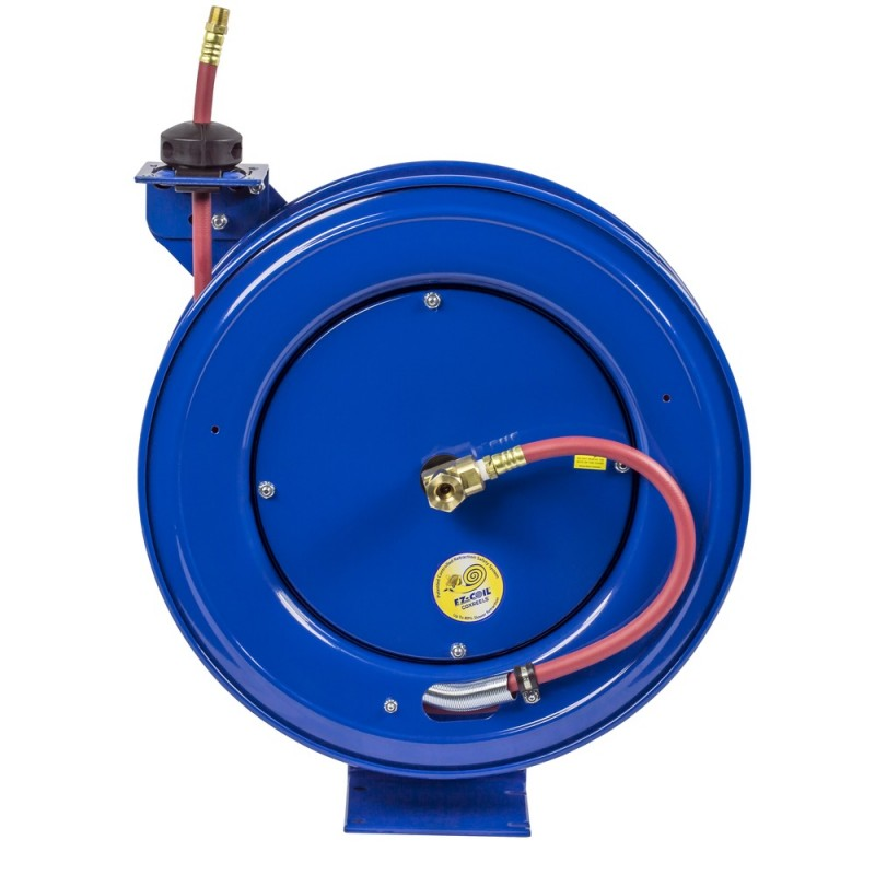 Coxreels EZ-HP-350 Safety System Heavy Duty Spring Driven Hose Reel 3/8inx50ft (6)