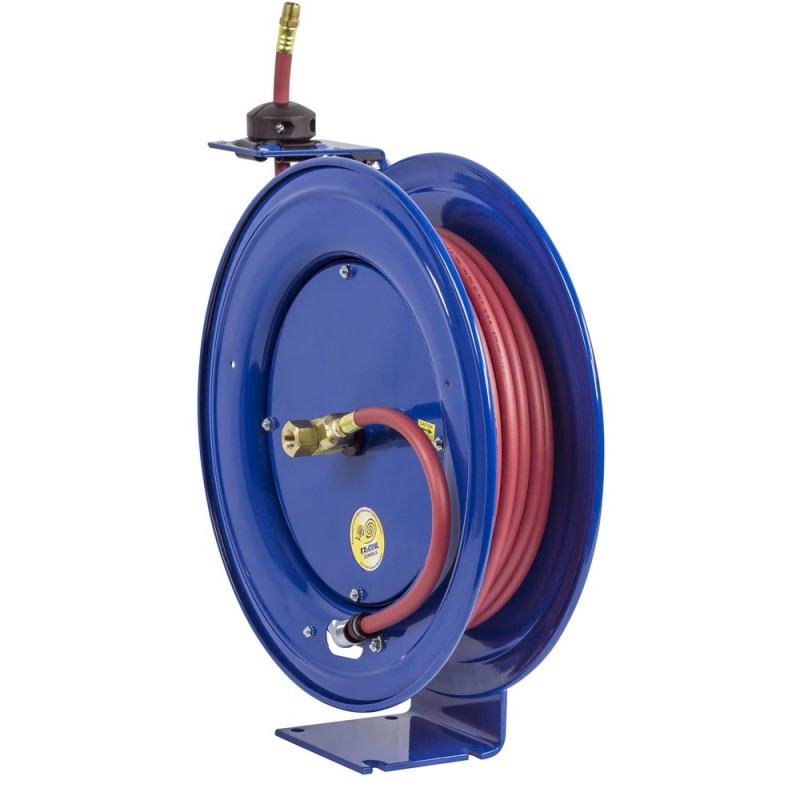 Coxreels EZ-HP-350 Safety System Heavy Duty Spring Driven Hose Reel 3/8inx50ft (7)