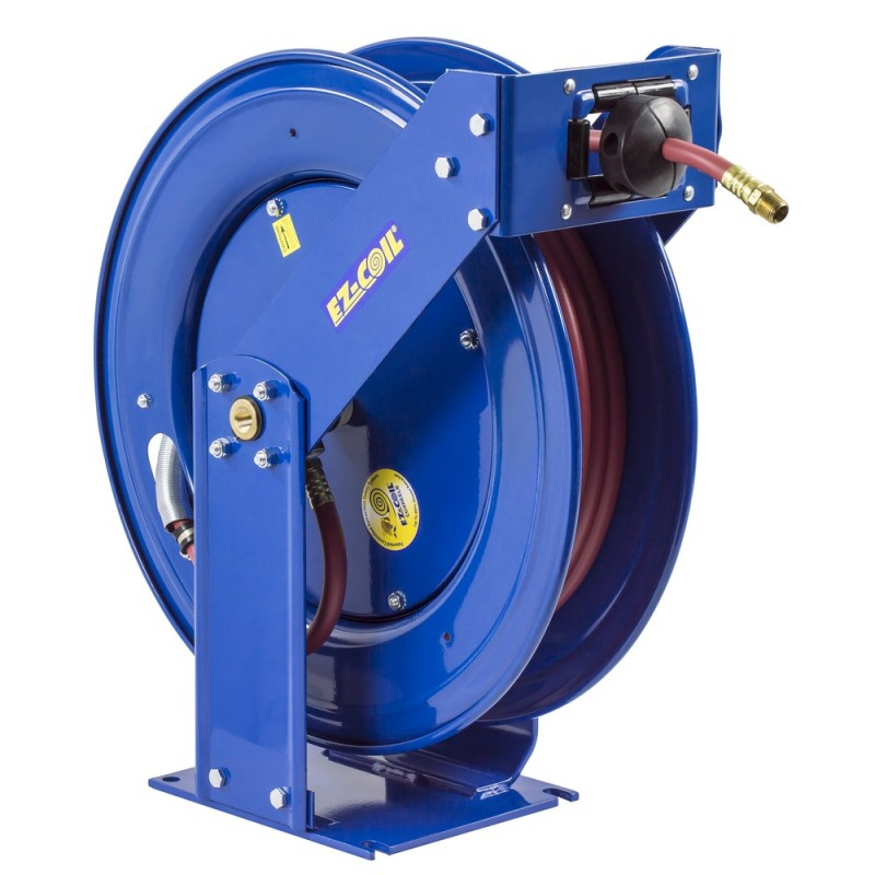 Coxreels EZ-THP-375 Safety System Spring Driven Hose Reel 3/8inx75ft 4000PSI (1)