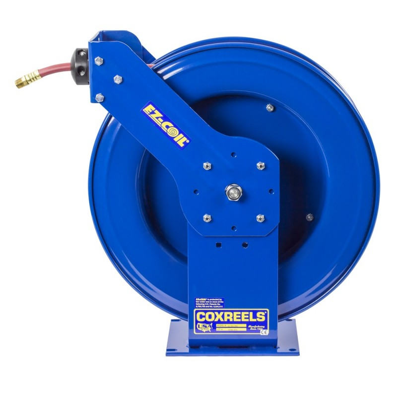 Coxreels EZ-THP-375 Safety System Spring Driven Hose Reel 3/8inx75ft 4000PSI (5)