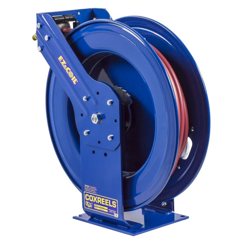 Coxreels EZ-THP-375 Safety System Spring Driven Hose Reel 3/8inx75ft 4000PSI (6)