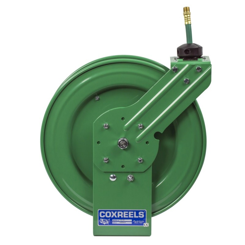 Coxreels EZ-P-NPL-350 Safety System Spring Driven Nitrogen Hose Reel 3/8inx50ft (2)