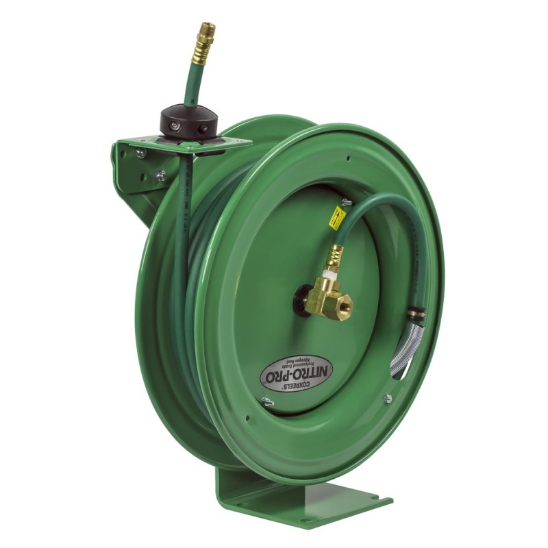 Coxreels EZ-P-NPL-350 Safety System Spring Driven Nitrogen Hose Reel 3/8inx50ft (4)