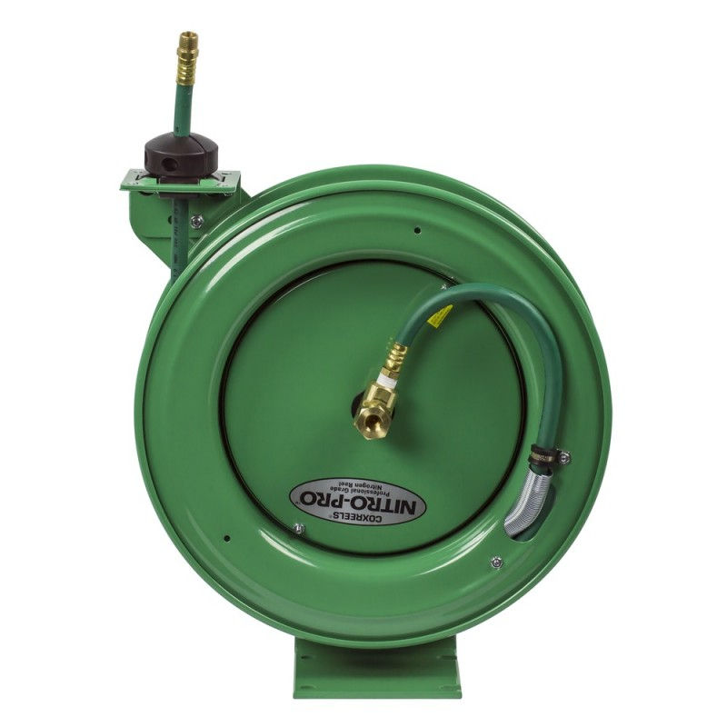 Coxreels EZ-P-NPL-350 Safety System Spring Driven Nitrogen Hose Reel 3/8inx50ft (6)