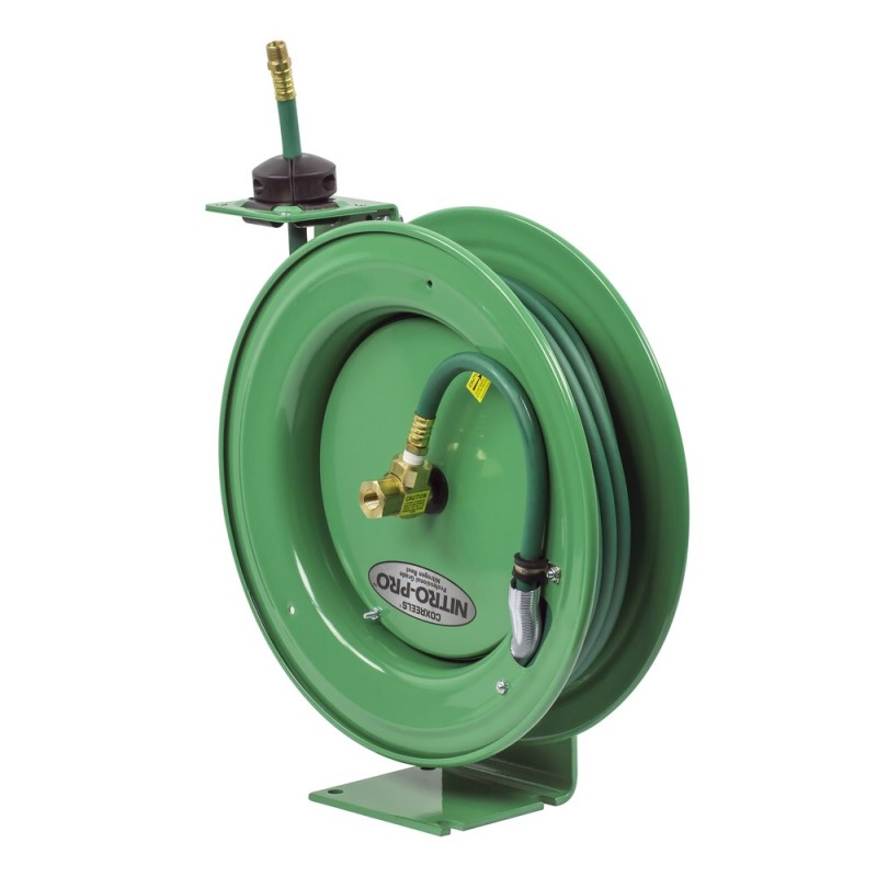 Coxreels EZ-P-NPL-350 Safety System Spring Driven Nitrogen Hose Reel 3/8inx50ft (7)