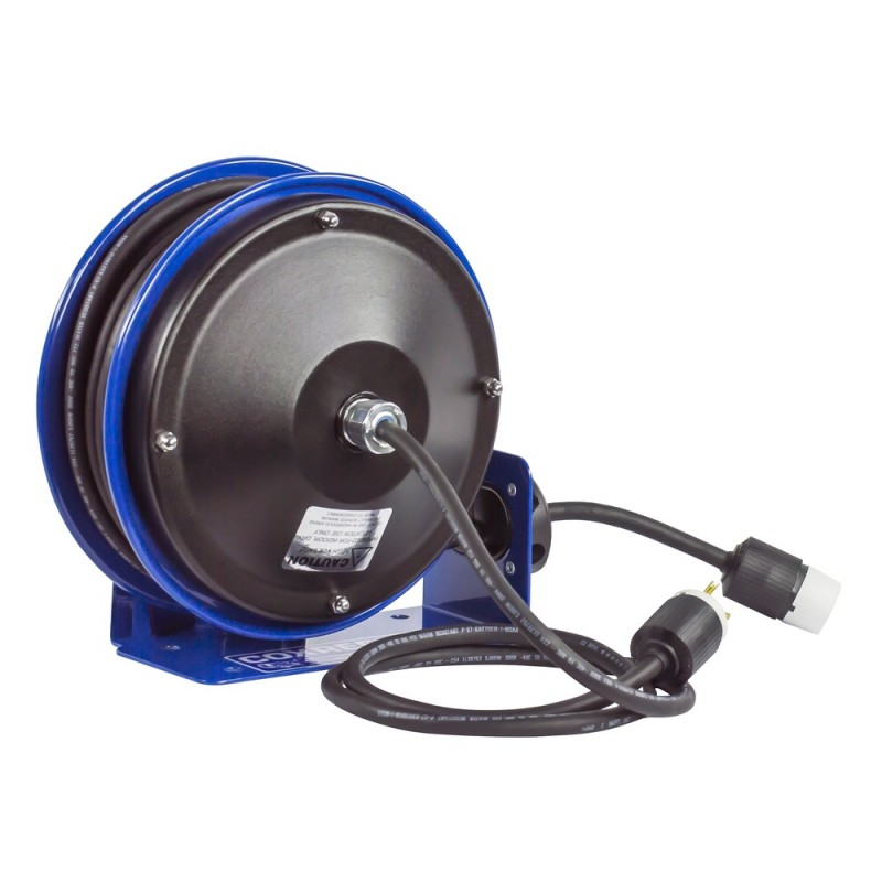 Coxreels PC10-3012-A Compact Spring Driven Cord Reel Single Receptacle 12GAx30ft (3)
